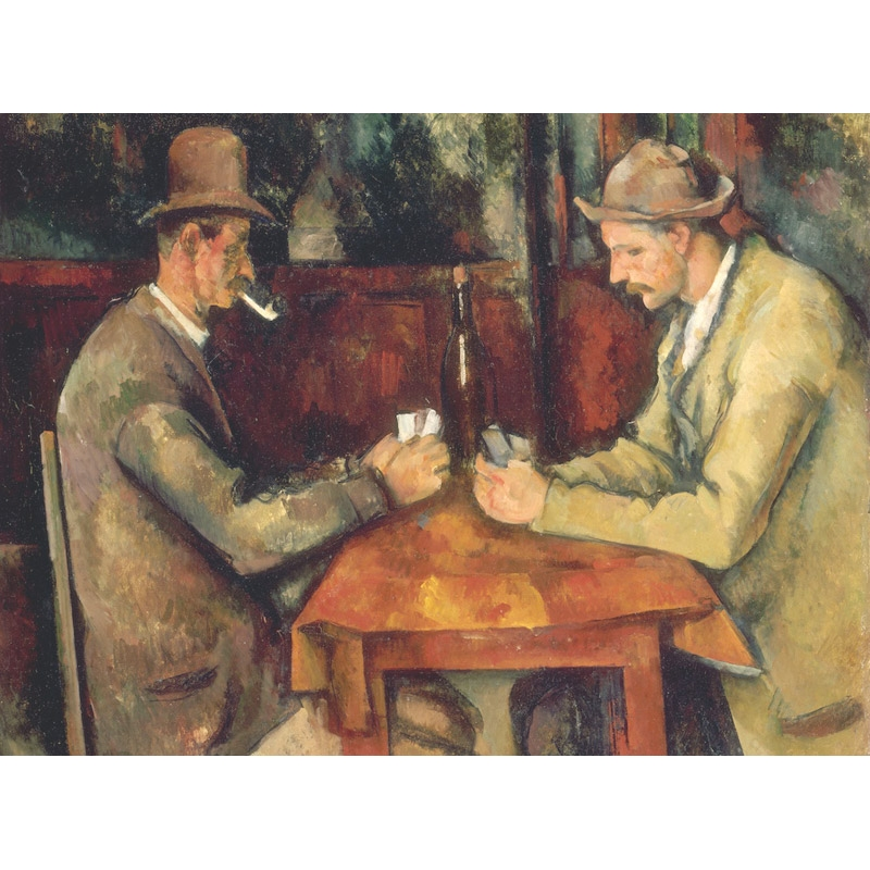 Παζλ - The Card Players | Paul Cezanne