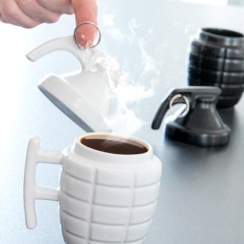 c451dcfc4c69 Κούπα καφέ χειροβομβίδα στο Vour