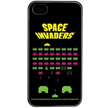 Θήκη Space Invaders για iPhone 4/4S
