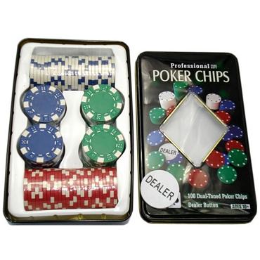Μάρκες πόκερ – Σετ των 100