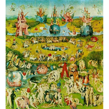 Παζλ - The Garden of Earthly Delights | Hieronymus Bosch