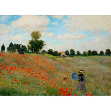 Παζλ - Poppies Near Argenteuil | Claude Monet