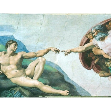 Παζλ - Creation of Adam | Michelangelo