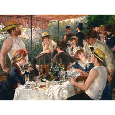 Παζλ - Luncheon of the Boating Party | Pierre Auguste Renoir