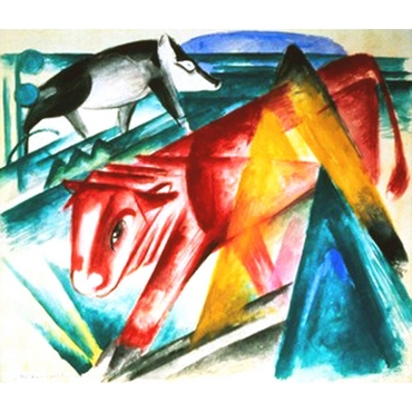 Παζλ - Animals | Franz Marc