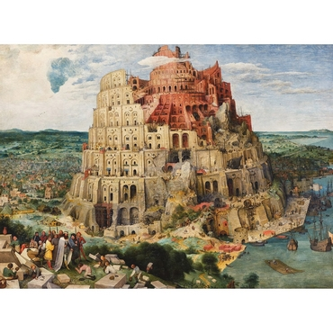 Παζλ - Tower of Babel | Pieter Bruegel the Elder