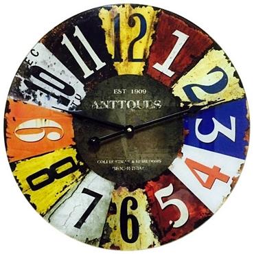 Ρολόι τοίχου Αντικέ - 40 εκ.