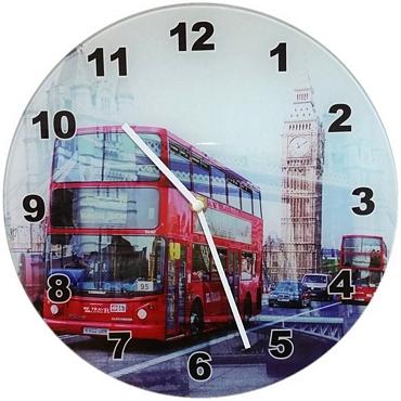 Ρολόι τοίχου Λονδίνο - 30 εκ.
