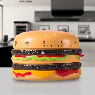 Χρονόμετρο κουζίνας - Hamburger είδη σπιτιού   είδη κουζίνας   αξεσουάρ κουζίνας