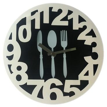 Ρολόι τοίχου - Μαχαιροπήρουνα