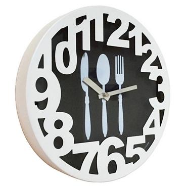 Ρολόι τοίχου Μαχαιροπήρουνα - 30 εκ.