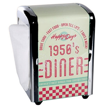 Διανομέας χαρτοπετσετών - 1950`s Diner είδη σπιτιού   είδη κουζίνας   αξεσουάρ κουζίνας