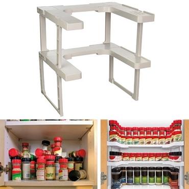 Διοργανωτής ραφιών Spicy Shelf είδη σπιτιού   είδη κουζίνας   αξεσουάρ κουζίνας