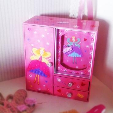 Μουσική μπιζουτιέρα με καθρέπτη και περιστρεφόμενη κορώνα διακοσμητικά   μουσικά κουτιά   καρουζέλ