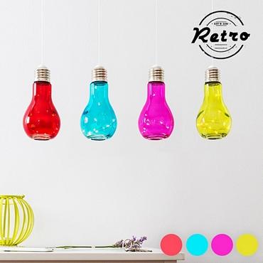 Χρωματιστή κρεμαστή λάμπα LED