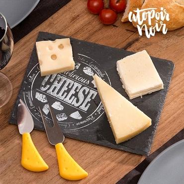 Σετ σερβιρίσματος τυριών - Δίσκος από σχιστόλιθο είδη σπιτιού   είδη κουζίνας   αξεσουάρ κουζίνας