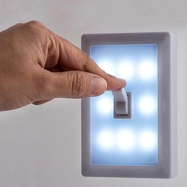 Φορητό φωτάκι LED με διακόπτη