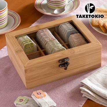 Κουτί τσαγιού από μπαμπού είδη σπιτιού   είδη κουζίνας   αξεσουάρ κουζίνας