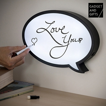 Πίνακας μηνυμάτων με LED φωτισμό - 32 εκ.
