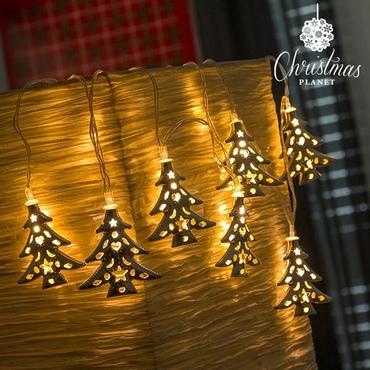 LED γιρλάντα με Χριστουγεννιάτικα δεντράκια gadgets   audio   vision