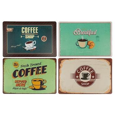 Σετ 4 σουπλά - Coffee είδη σπιτιού   είδη κουζίνας   αξεσουάρ κουζίνας