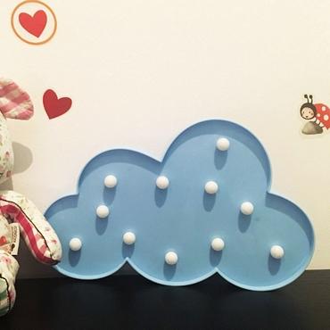 Φωτιστικό γαλάζιο σύννεφο gadgets   audio   vision