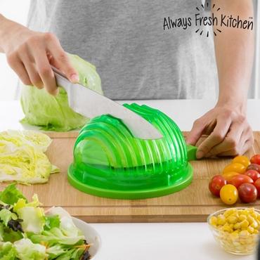 Καλούπι για πλύσιμο, στράγγισμα και γρήγορη κοπή σαλατών είδη σπιτιού   είδη κουζίνας   αξεσουάρ κουζίνας