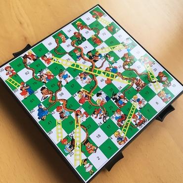 2 σε 1 μαγνητικό Φιδάκι και Σκάκι ταξιδίου