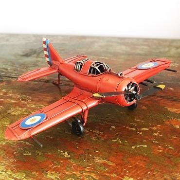 Μεταλλικό vintage διακοσμητικό κόκκινο αεροπλάνο διακοσμητικά   vintage   ρετρό διακοσμητικά   αεροπλάνα