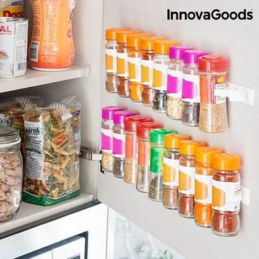 Αυτοκόλλητη θήκη μπαχαρικών 20 θέσεων είδη σπιτιού   είδη κουζίνας   αξεσουάρ κουζίνας