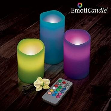 Led κεριά με άρωμα βανίλιας με τηλεχειρισμό διακοσμητικά   κεριά