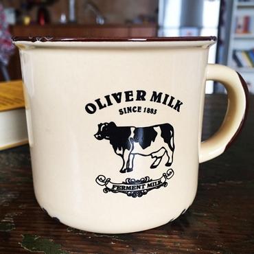 Vintage κούπα - OLIVER MILK