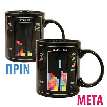 Μαγική κούπα Tetris - Θερμαινόμενη
