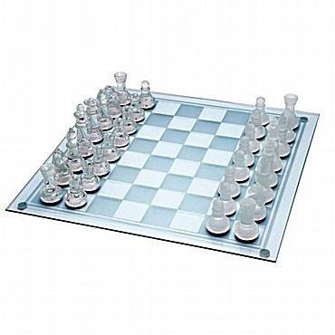 Γυάλινο σκάκι 25 εκ.