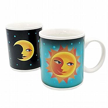 Μαγική κούπα Ήλιος Φεγγάρι - Θερμαινόμενη Κεραμική