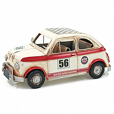 Fiat 500 λευκό αγωνιστικό - 27 εκ.