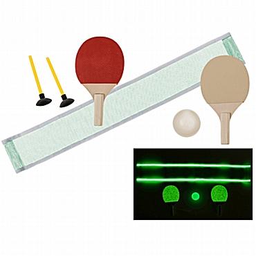Μίνι ping pong που φωσφορίζει στο σκοτάδι