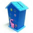 Γαλάζιο - Ροζ ελεφαντάκι
